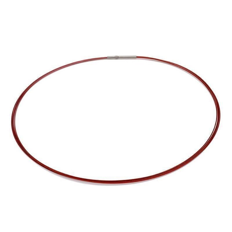 Colour Cable; 0,50 mm; 5-reihig; rot 60 cm DCV Edelstahl