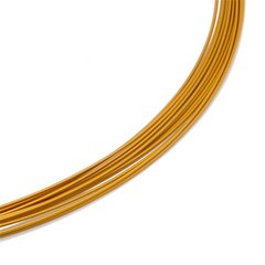 Colour Cable 0,50 mm 12-reihig metallic-gold 60 cm DCV Edelstahl