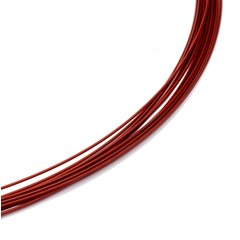 Colour Cable 0,50 mm 12-reihig rot 40 cm DCV Edelstahl